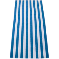 Blue Latitude Plus Striped Beach Towel Thumb