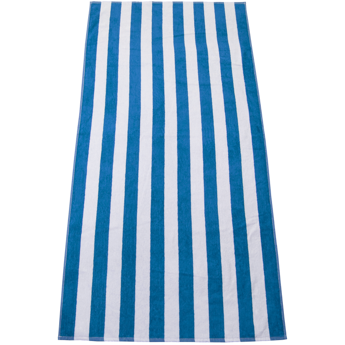 Blue Latitude Plus Striped Beach Towel