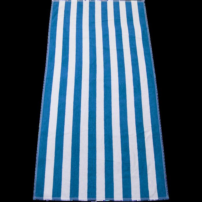 Blue Latitude Plus Striped Beach Towel