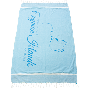 Shoreline Fringed Beach Towel