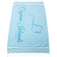 Shoreline Fringed Beach Towel Thumb