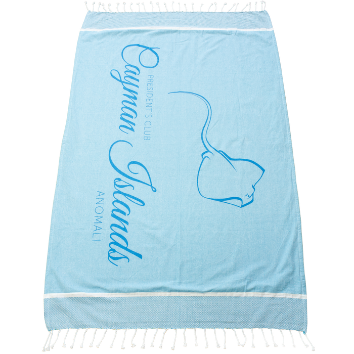 Shoreline Fringed Beach Towel