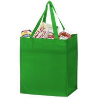 Lime Green Big Tex Grocery Bag Thumb