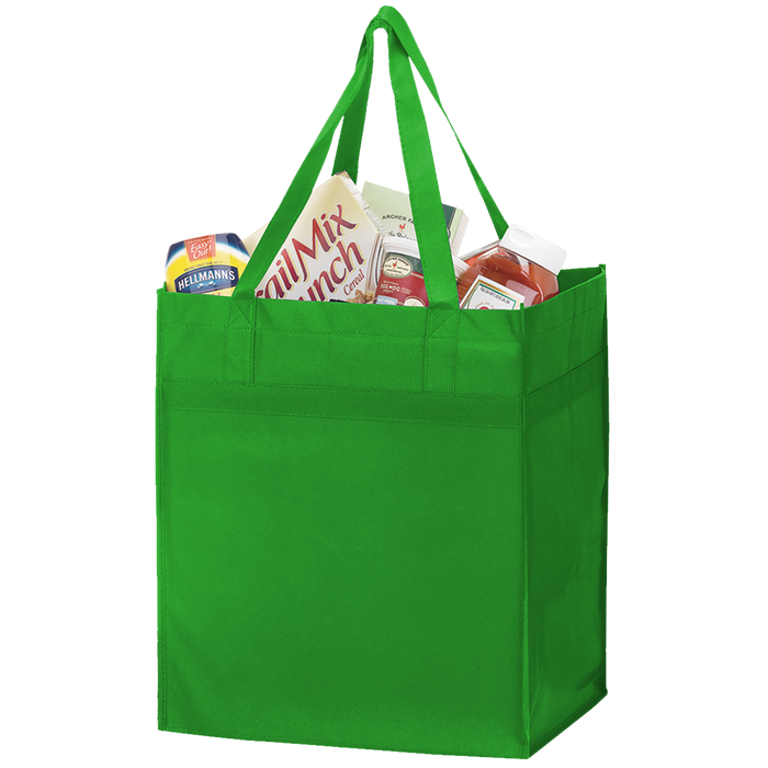 Lime Green Big Tex Grocery Bag