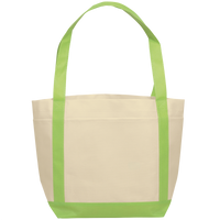 Lime Green Boat Tote Thumb