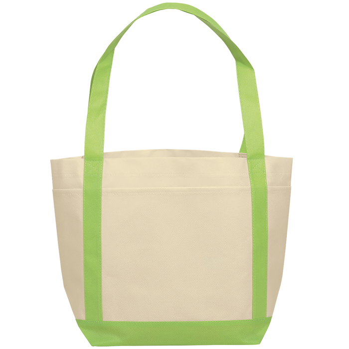 Lime Green Boat Tote