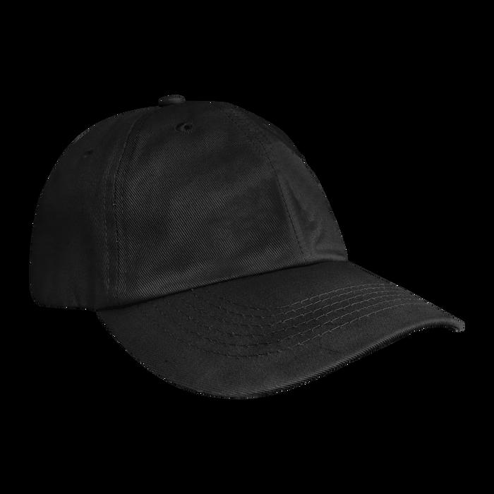 Black Cotton Dad Hat