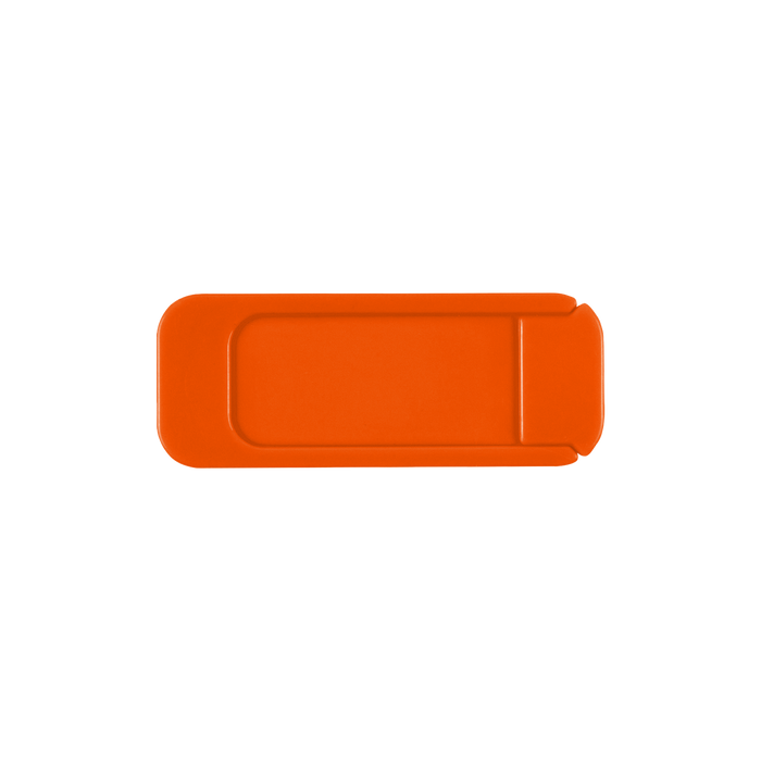 Orange Sliding Webcam Cover