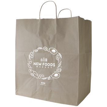 Extra Large Kraft Paper Shopper