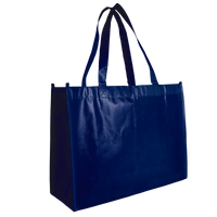 Navy Blue Laminated Convention Tote Thumb