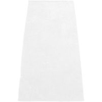 White Built-In Pocket White Beach Towel Thumb