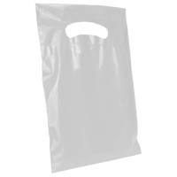 Frosted Clear Extra Small Eco-friendly Die Cut Plastic bag Thumb