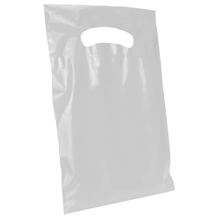 Frosted Clear Extra Small Eco-friendly Die Cut Plastic bag