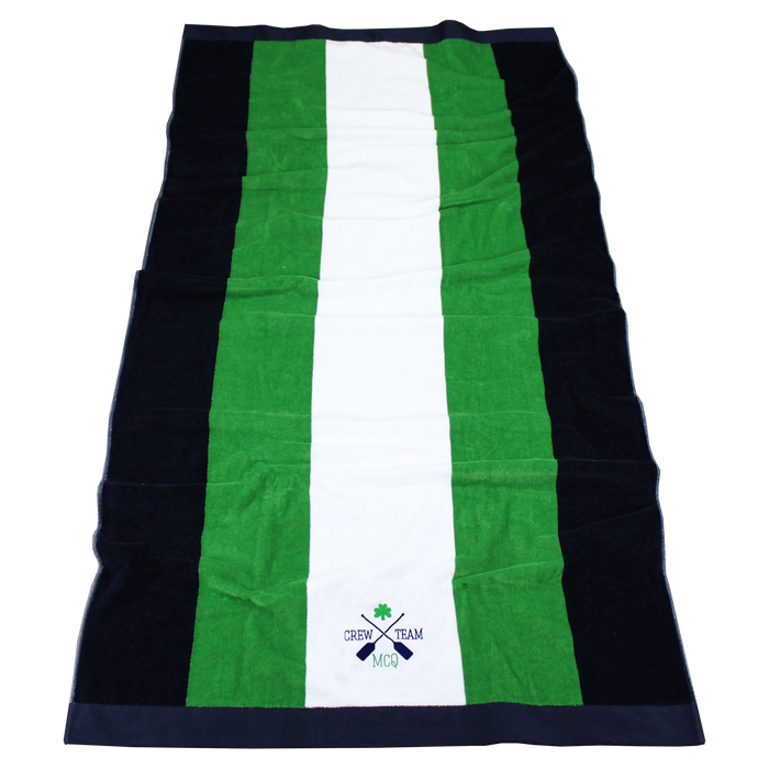 Hampton Striped Beach Towel
