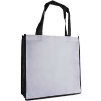 White Full Color Express Lane Tote Thumb