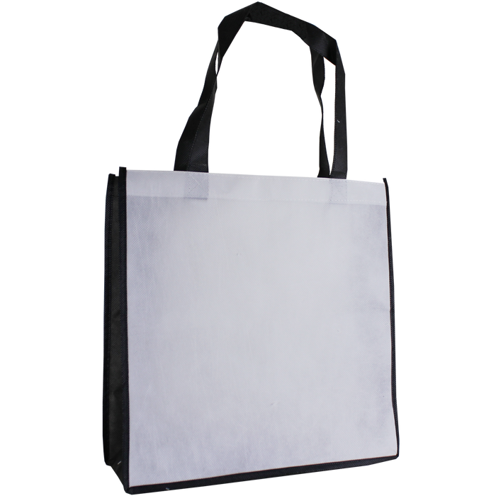 White Full Color Express Lane Tote