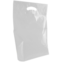 Clear Medium Die Cut Plastic Bag Thumb