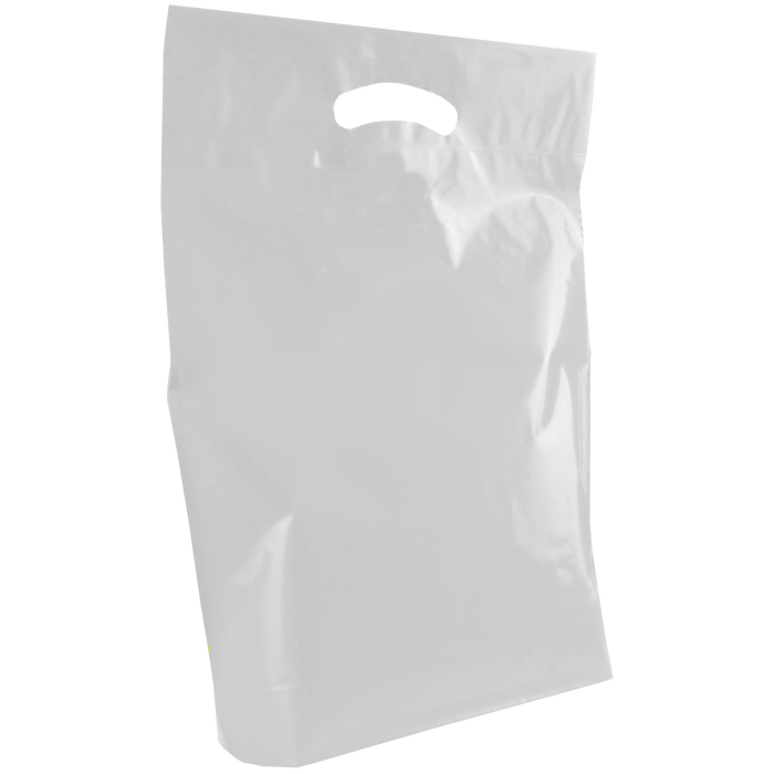 Clear Medium Die Cut Plastic Bag