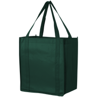 Hunter Green Thrifty Grocery Tote Thumb