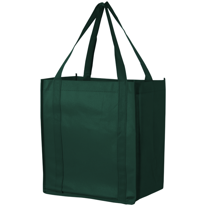 Hunter Green Thrifty Grocery Tote