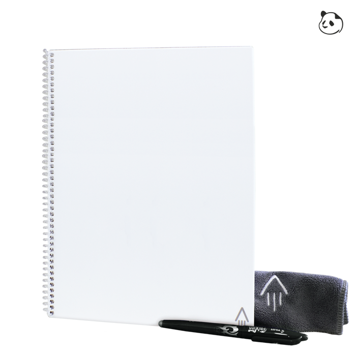 White Rocketbook Panda Planner Letter