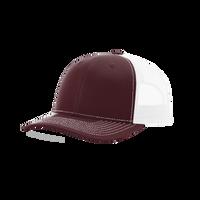 Maroon/White Richardson Trucker Snapback Hat Thumb