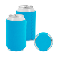 Ocean Blue Premium Collapsible Neoprene Koozie Thumb