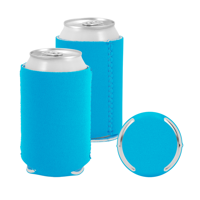 Ocean Blue Premium Collapsible Neoprene Koozie