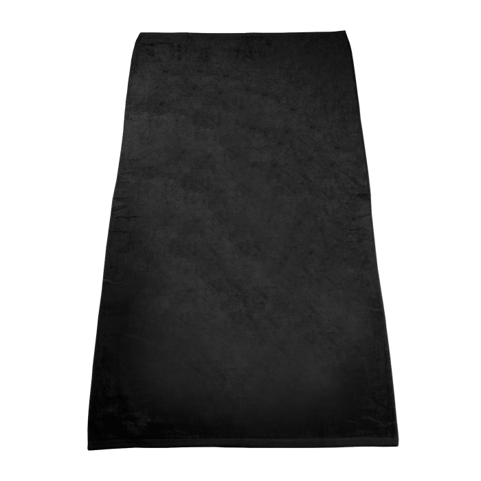 Black Classic Color Beach Towel