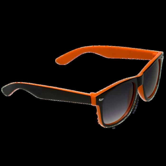 Black/Orange Daytona Sunglasses