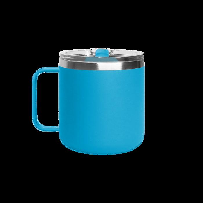 Matte Aqua Stainless Steel Insulated Camper Mug