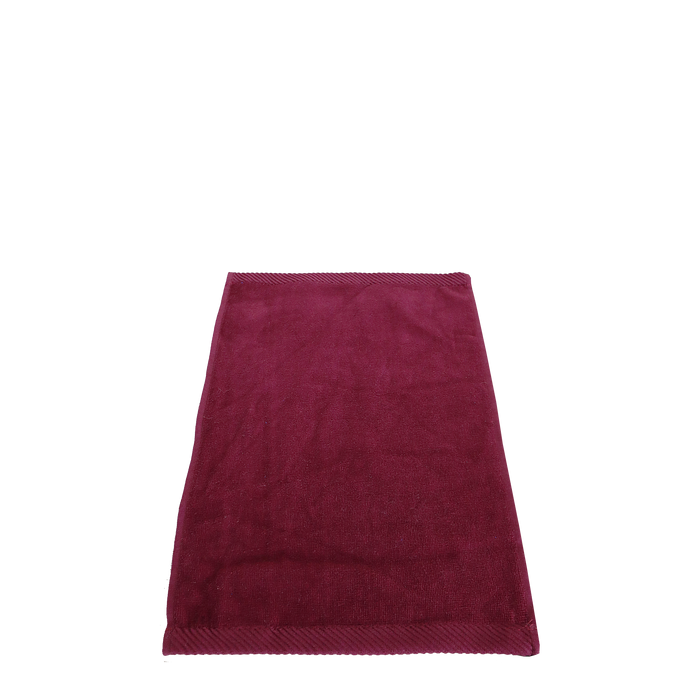 Maroon Balance Color Fitness Towel