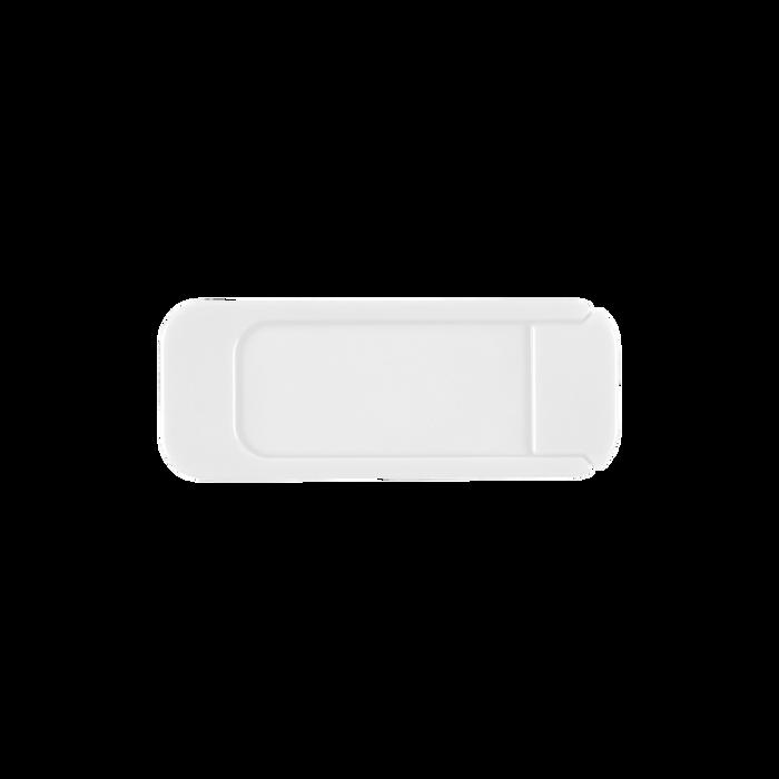 White Sliding Webcam Cover