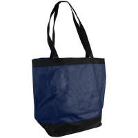 Navy Blue Clipper Fashion Tote Bag Thumb