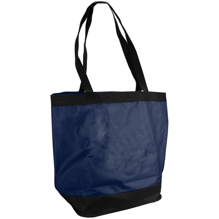 Navy Blue Clipper Fashion Tote Bag