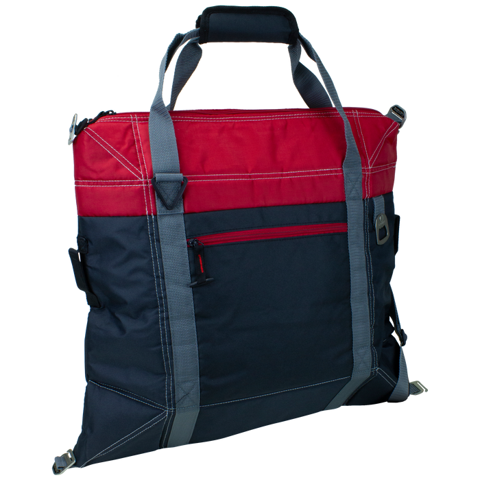 Red Urban Expandable Soft Cooler Bag
