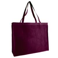 Burgundy Convention Tote Plus Thumb