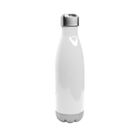 Gloss White Vacuum Insulated Thermal Bottle Thumb