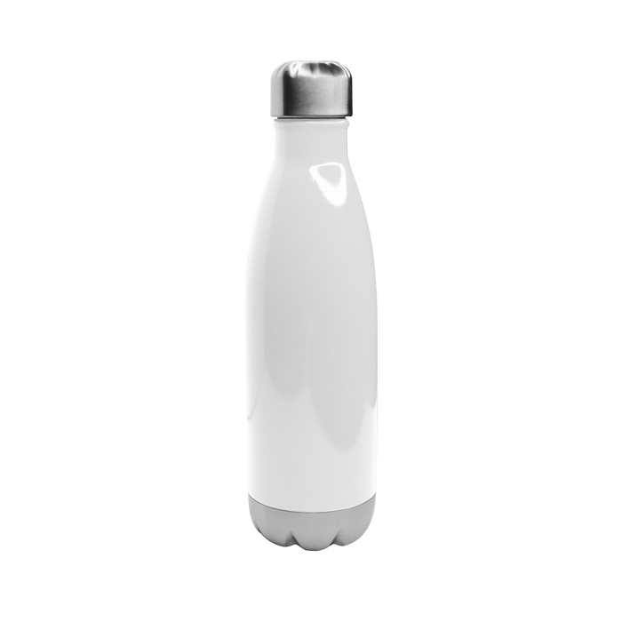 Gloss White Vacuum Insulated Thermal Bottle