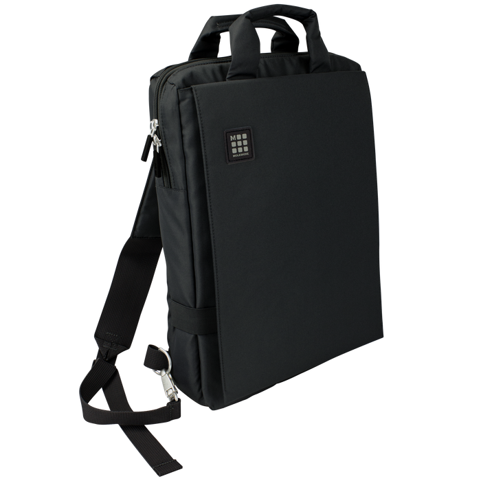 Black Moleskine ID Vertical Bag for Digital Devices