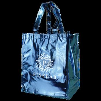 Metallic Big Storm Grocery Bag