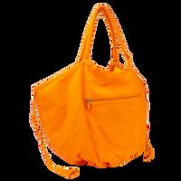 Orange Tropical Reversible Beach Bag Thumb