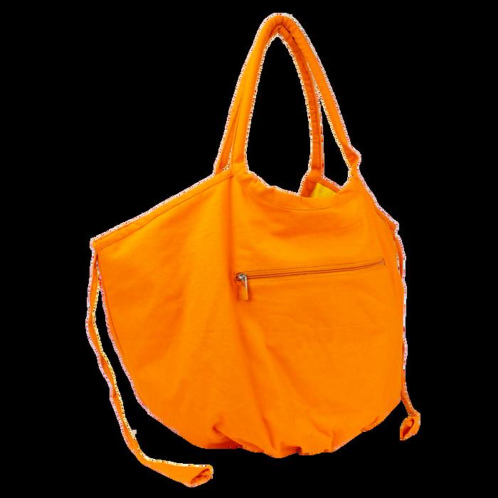 Orange Tropical Reversible Beach Bag