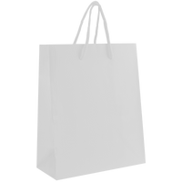 White Small Matte Shopper Bag Thumb