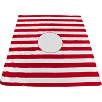 Red Mainland Beach Blanket Bag Thumb