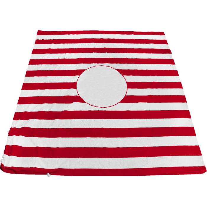 Red Mainland Beach Blanket Bag