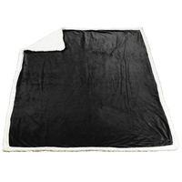 Black Denali Standard Throw Blanket Thumb
