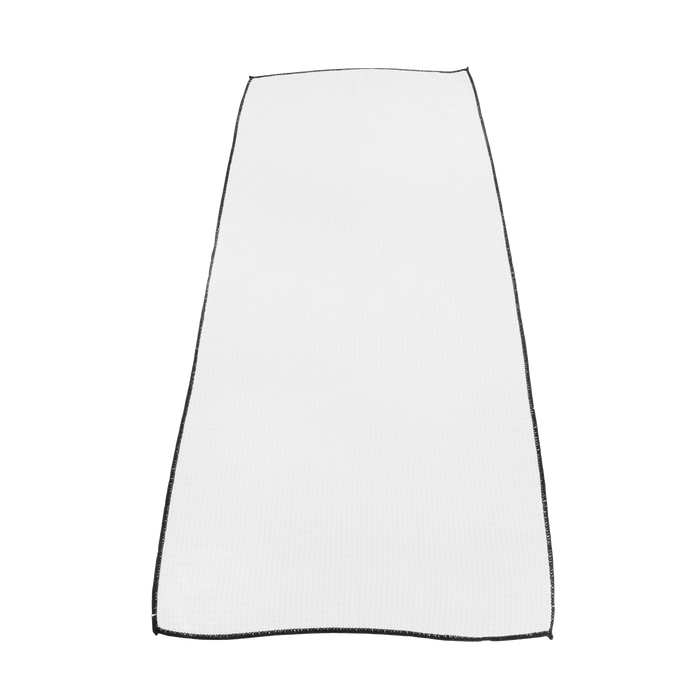White Large Microfiber Golf Towel