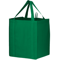 Green Big Storm Grocery Bag Thumb