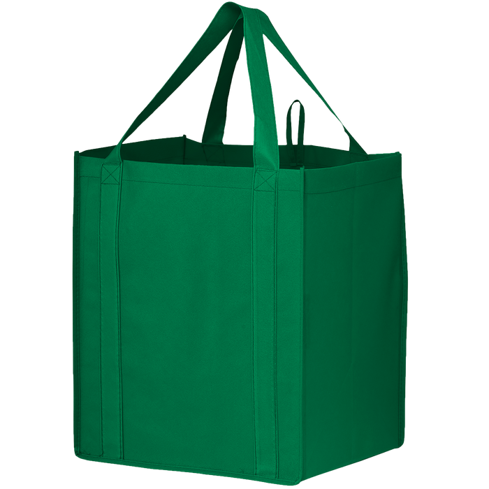 Green Big Storm Grocery Bag